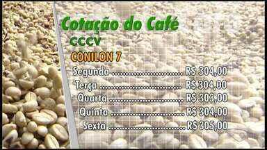 Confira a cotação do café no ES - Arábica 6 vai custar R$ 369,00 nesta segunda-feira.