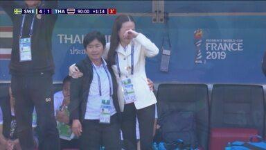 Emoção com primeiro gol da Tailândia e vitória dos Estados Unidos são destaques da Copa do Mundo Feminina - Emoção com primeiro gol da Tailândia e vitória dos Estados Unidos são destaques da Copa do Mundo Feminina