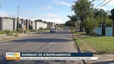 Criança de quatro anos e jovem de 19 são atropelados em MS - Os acidentes foram provocados por motos nas cidades de Corumbá e Ladário.