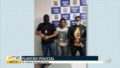 Mateus Ferreira traz as informações do plantão policial no Norte do Ceará - Paraense é preso com cocaína escondida no para-choque de um carro.