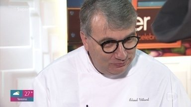 Roland Villard avalia os pratos das duplas na primeira prova de imunidade - Veja os comentários do chef para o trabalho dos participantes no 'Super Chef Celebridades 2019'