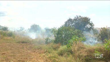 Maranhão está incluído no mapa de risco de queimadas, diz INPE - A situação é mais grave nas regiões sul e sudoeste do estado.