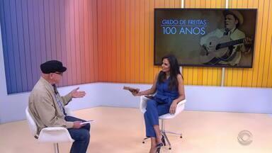 Juarez Fonseca lança nova edição de livro sobre o grande trovador Gildo de Freitas - Gildo completaria 100 anos de idade nesta quarta-feira (19).
