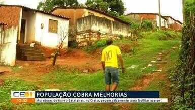 População cobra melhorias no bairro Batateiras no Crato - Confira mais notícias em g1.globo.com/ce