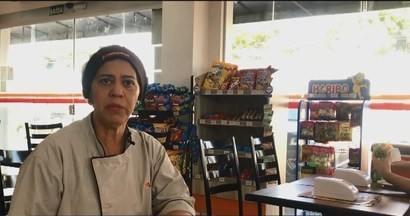 MG1 vai ao Sine de Uberlândia conversar com quem procura oportunidade de emprego - No dia 21 de maio foi exibida uma reportagem sobre o mercado de trabalho em que mostrou a história de Silvanda, que foi contratada após uma entrevista dada para a TV Integração.