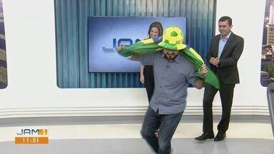 """Com direito """"invasão"""", confira agenda dos jogos do Brasil com Silvio Lima - Editor do globoesporte.com/am comenta sobre duelo da Copa do Mundo Feminina e da Copa América"""