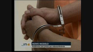 Chapecó inicia projeto com audiências de presos por videoconferência - Chapecó inicia projeto com audiências de presos por videoconferência