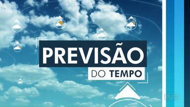 Massa de ar seco predomina sobre a região dos Campos Gerais nesta quarta-feira (19) - Confira a previsão do tempo.