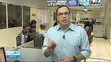 Almir Vilanova chama os destaques do AB1 da quarta-feira (19) - Telejornal inicia às 12h.