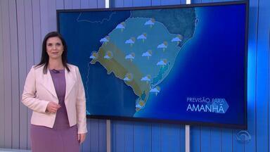 Quarta-feira (19) tem previsão de chuva para a maior parte do RS - Assista ao vídeo.