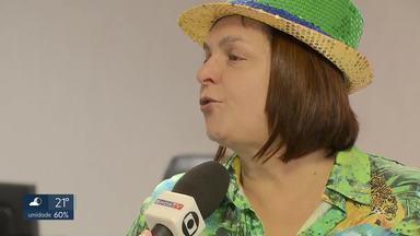 Brasil vence Itália na Copa do Mundo de futebol feminino - Mulheres do DF se reuniram para assistir ao jogo