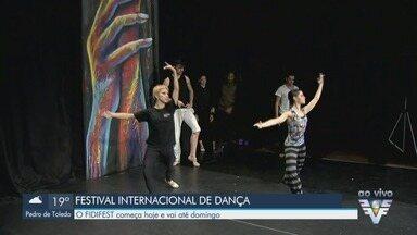 Festival Internacional de Dança, o FIDIFEST, tem início em Santos, SP - Evento vai desta terça-feira (18) até domingo (23), o Teatro Municipal.