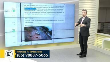 Reveja a participação do telespectador nesta quarta-feira (19) - Envie sua contribuição para o Bom Dia Ceará.