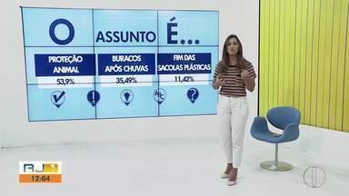 'O assunto é' fala sobre proteção animal no interior do Rio - Assista a seguir.