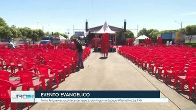 """""""Aviva Ariquemes"""" inicia nesta terça-feira - Evento segue até o próximo domingo."""
