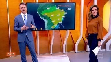 Último dia do outono será quente em algumas regiões do país - Esse foi o segundo outono mais quente na cidade de São Paulo desde 1961, só perdeu para o de 2002. A previsão é de temperaturas negativas nas serras gaúchas e catarinense.