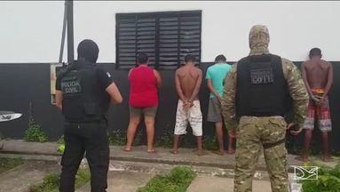 Polícia de Tocantins prende nove pessoas suspeitas de tráfico interestadual de drogas - De acordo com as investigações, a droga saía do Maranhão.