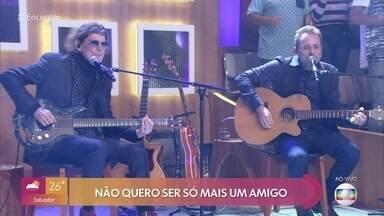 Titãs cantam 'Pra Dizer Adeus' - Confira