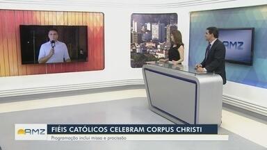 Católicos celebram Corpus Christi em Manaus - Programação inclui missas e procissão