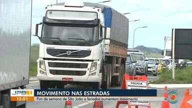 Fim de semana de São João e feriados aumentam movimento nas rodovias - A Operação Festejos Juninos acontece desde o início do Maior São João do Mundo em Campina.