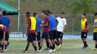 Tupynambás intensifica treinos para seguir fazendo bonito no Mineiro sub-17 - Após quatro rodadas, Baeta é líder da competição estadual. Seleção é inspiração para garotada.