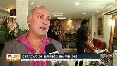 Setor de serviços está gerando novas oportunidades de emprego em Mendes - Cidade, com pouco mais de 18 mil habitantes, é a menor do estado Rio.