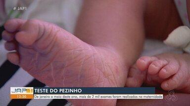 Campanha no Amapá reforça importância de se fazer o Teste do Pezinho - Teste pode detectar dezenas de doenças em recém-nascidos.