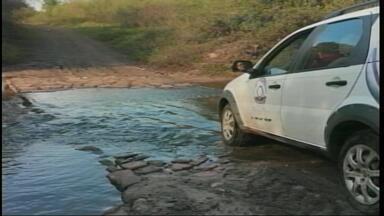 Veja como estão algumas estradas rurais de Uruguaiana - De acordo com informações do Fundestradas, Uruguaiana possui 1500 km de vias rurais.