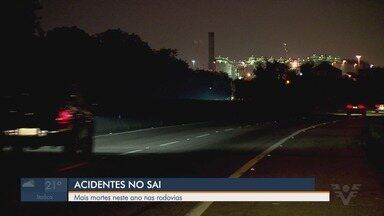 Número de acidentes no Sistema Anchieta-Imigrantes é menor, segundo Polícia Rodoviária - Número de acidentes diminuiu, mas quantidade de mortes nas estradas aumentou.