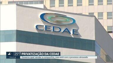Cedae comunica ao mercado que pode ser vendida - Governo do estado quer vender a companhia, mas está com o processo atrasado.