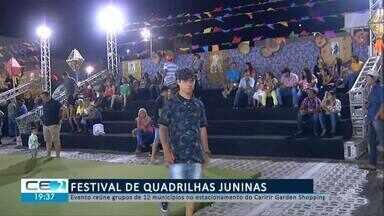 Festival de quadrilhas juninas reúne 12 municípios - Confira mais notícias em g1.globo.com/ce