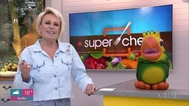Ana Maria revela que hoje será a última imunidade do 'Super Chef Celebridades 2019' - Roland Villard foi o chef responsável por avaliar os pratos