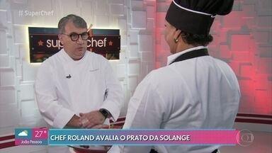 Confira como foi a avaliação do chef Roland Villard na prova da imunidade - Participantes do 'Super Chef' ficam na expectativa do resultado