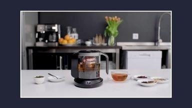 Bule faz chá de acordo com o humor da pessoa - No Planeta Criativo conheça o bule que faz chá personalizado. O equipamento fermenta o chá em uma temperatura mais alta para aumentar o nível de cafeína, por exemplo.