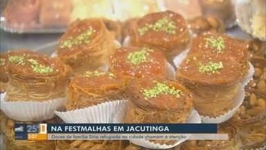 Barraca de doces vira sensação durante a FestMalhas em Jacutinga - Barraca de doces vira sensação durante a FestMalhas em Jacutinga