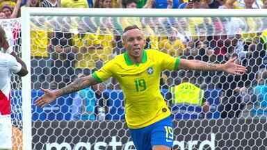 Os gols de Peru 0 x 5 Brasil pela 3ª rodada da fase de grupos da Copa América - Os gols de Peru 0 x 5 Brasil pela 3ª rodada da fase de grupos da Copa América