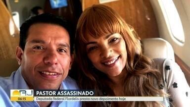 Flordelis é esperada para novo depoimento na Delegacia de Homicídios de Niterói - Deputada federal do PSD vai ser ouvida sobre a morte do marido, o pastor Anderson do Carmo.