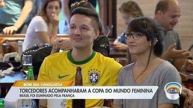 Copa do Mundo Feminina movimenta torcida em São José - Brasil foi eliminado pela França.