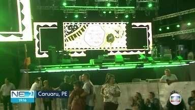 Forró toma conta de Caruaru na noite desta segunda-feira (24) - Shows animam o São João na Capital do Agreste