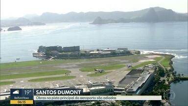 Infraero adia interdição de pista do Santos Dumont - Obra começaria em Agosto.