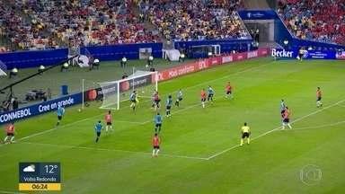 Brasil pega Paraguai na Copa América - Confrontos das quartas de final têm ainda Argentina x Venezuela, Chile x Colômbia e Uruguai x Peru.