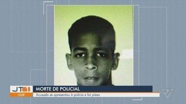 Suspeito de matar policial militar de Itanhaém, SP, é preso - PM foi morto em serviço, durante uma abordagem no último domingo (23).