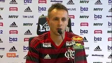 Rafinha fala sobre sua ida ao Flamengo - Rafinha fala sobre sua ida ao Flamengo.