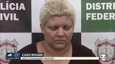 Caso Rhuan: mãe do menino e companheira viram rés - undefined