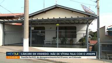 Mãe de vítima que vivia em cárcere privado fala ao Meio Dia Paraná - Família fez boletim de ocorrência há 23 anos, em Colorado.