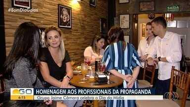 Grupo Jaime Câmara faz homenagem aos profissionais da publicidade em Goiânia - Evento contou com participação de várias agências.
