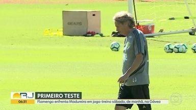 O primeiro teste de Jesus - Técnico português terá oportunidade de ver Fla sob seu comando em jogo-treino com Madureira sábado, pela manhã, na Gávea.