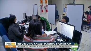 Militares vão dar apoio ao cadastramento biométrico, em Corumbá - Marinha e exercito vão dar apoio ao cadastramento em Corumbá e Ladário.