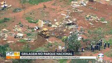 Polícia prende quadrilha de grileiros - A quadrilha vendia terras públicas dentro do Parque Nacional de Brasília.