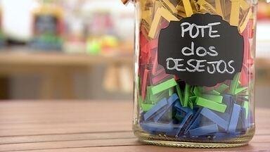 Empresária fatura vendendo potes com mensagens motivacionais - Cátia Degasperi investiu no negócio após ser demitida do último emprego